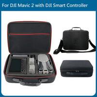 For DJI Smart Controller Mavic 2 Zoom Pro Drone Battery Carry Case Shoulder Bag