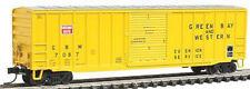 Atlas N SCALE - 50' ACF Boxcar Green Bay & Western 7087 NEW 50000768