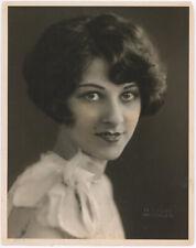 Broadway Flapper Bobbie Perkins Original 1926 De Mirjian Studios Photograph