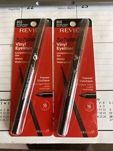 REVLON So Fierce Vinyl Eyeliner .042 oz. MIDNIGHT MYSTERY 860 NEW! FREE SHIP. I