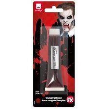 28ml ROUGE SANG Faux vampire FESTIVAL SFX maquillage Théâtre Scène Halloween