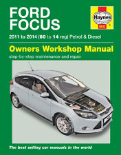 Ford Focus Petrol & Diesel LW Series Workshop Repair Manual 2009-2014 MPN HA5632