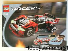 Lego® 8650 Racers Bauanleitung Furious Slammer Racer