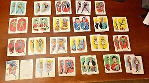VINTAGE 1966 WHITMAN BATMAN CARD GAME COMPLETE DECK SET WITH CASE