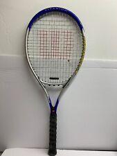 Wilson Titanium Impact Tennis Racket Volcanic Frame Power Bridge L3 4 3/8