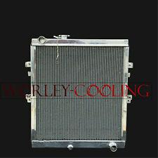 4row aluminum radiator for TOYOTA Hilux KZN165 LN147 LN167 1KZ-TE 3.0L Engine TD