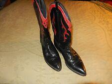 Dingo western leather boots, womans size 8.5-m