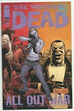 The Walking Dead 125 1st print Image Comics AMC Zombie All Out War