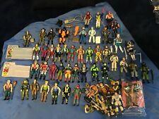 Vintage 80's & 90's Arah G.I. Joe Huge Lot 45 figures Cobra Ninjas Hasbro