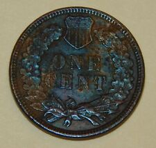 1885 - Indian Head One Cent - XF+ / With Corrosion