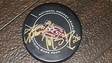 STEVEN STAMKOS MARTIN ST LOUIS AUTOGRAPHED AUTO ALLSTAR PUCK TAMPA BAY LIGHTNING