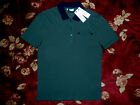 $195 Versace Collection Mens Green Polo Shirt Size Large L Authentic Medusa