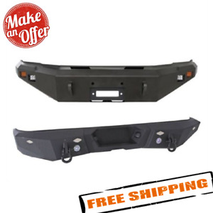 Smittybilt M1 Front & Rear Bumpers for 2008-2010 Ford F-250 & F-350 Super Duty