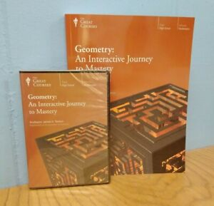 Geometry: An Interactive Journey To Mastery NEW DVD and Unused Workbook