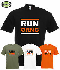 Heavy T Shirt RUN ORNG, für Orange, Adventure, Supermoto Enduro, ktm, Dirt, Fans
