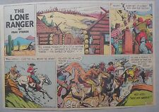 Lone Ranger Sunday Page by Fran Striker and Charles Flanders from 2/7/1943
