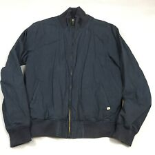 Scotch & Soda Navy Cotton Harrington Bomber Jacket Men's XL