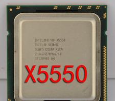 ree shipping Intel Xeon X5550 SLBF5 LGA 1366 2.66 GHz 6.4 GT/s Quad-Core CPU