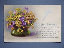 R&L Postcard: Art Design, Easter Flower Design
