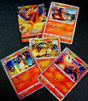 Pokemon Card Charizard Various 5 Sheet Set Promo Charizard V Illustrator