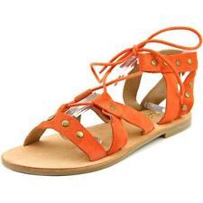 Sandalias y chanclas de mujer planos de ante, talla 37.5