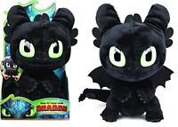"How to Train your Dragon Toothless 11"" Plush with Sounds Ages 4+ Toy Play Gift"