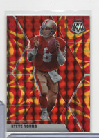 Steve Young 49ers Mosaic Prizm Red/Gold 179 Panini 2020 111020MLCD