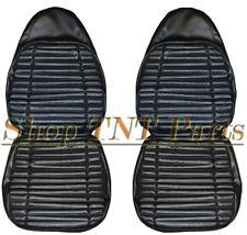 1971 Roadrunner Bucket Seat Covers Black Upholstery Skins Plymouth Satellite GTX