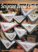 Scripture Bread Cloths in Counted Cross Stitch 1995 Leisure Arts 2766 Religious