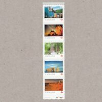 STARTER Strip of 5 stamps = FROM FAR AND WIDE =  Canada 2018 #3066ii MNH VF