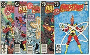 Fury of Firestorm #1 - 27  Complete Run  avg. NM- 9.2  DC  1982  No Reserve