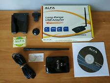 ALFA AWUS036NHA WIFI ADAPTER WIRELESS USB 2,4GHZ WLAN AR9271 ATHEROS