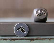 8mm Trout Fish Metal Punch Design Jewelry Stamp