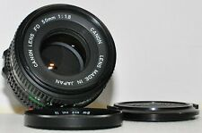 Canon FD 50mm f/1,8; guter Zustand