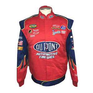 NASCAR Jeff Gordon Dupont Red Blue Chase Authentics Drivers Jacket Mens XL NWT