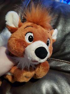 Rare Disney Disneyland Paris Soft Toy Copper Fox & The Hound Plush Collectable