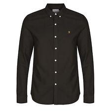 Farah Cotton Slim Button Down Casual Shirts & Tops for Men