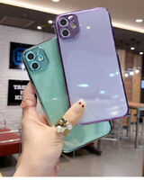 Mobile phone case transparent cover soft silicone is suitable for iphone11 Tyoes