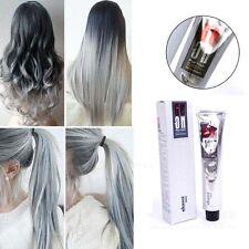 100ml Permanente Crema Tintes Coloración De Pelo Gris Abuelita Teñido cabello