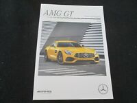 2018 Mercedes AMG GT & GT-S Coupe GTC Roadster GT-R Brochure US Sales Catalog