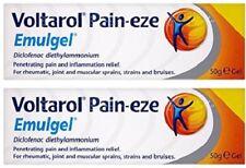 Voltarol Pain-Eze Emulgel Pain Relief Gel (2 x 50g) Pain & Inflammation Relief