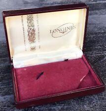 LONGINES Vintage Watch Box Heritage Conquest Evidenza Master Calatrava 13ZN