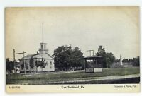 Church in EAST SMITHFIELD PA Bradford County Vintage Pennsylvania Postcard