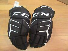 Ccm Hockey Ft370 Gloves Size 14� 36cm Black/White New JetSpeed Nwt