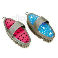 Clifton and Sherburn Body brush colorful equestrian grooming horse pony
