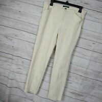 Ralph Lauren 8 Pants Womens Cream Slacks Trousers
