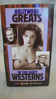 Hollywood Greats in the Early Westerns, VHS Box set of 3 tapes, John Wayne 1995