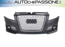 Paraurti anteriore Audi A3 3/5 porte completo ABS RS3-Look griglia 08> restyling