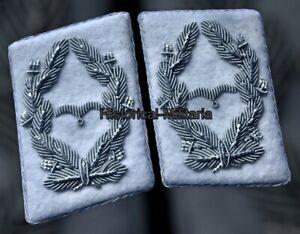 LUFTWAFFE mostrine divisione H.G. da Maggiore Major collar tabs Kragenspiegel