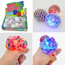 Anti Stress Squishy Mesh Ball Grape Squeeze Sensory Fidget Toy Stress Relief AU